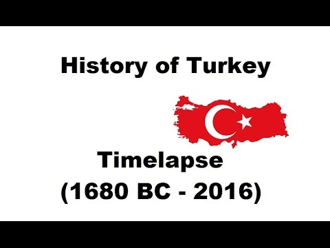 History of Turkey - Timelapse (1680 BC - 2016)