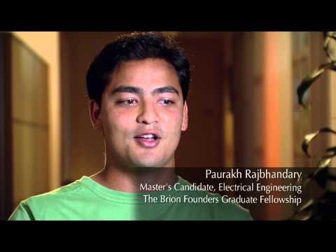 Stanford Engineering Graduate Fellow Paurakh Rajbhandary