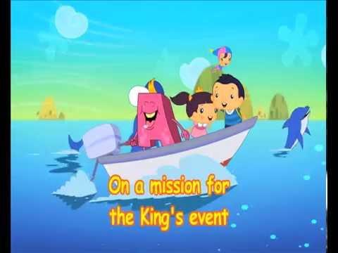 Cartoon ABC Monster's