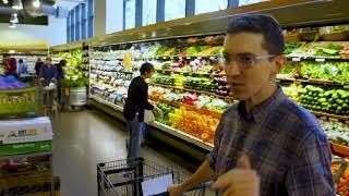 Bon Appétit's Chris Morocco riding shopping carts - the complete compilation