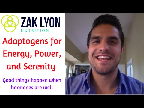 ♂ ♀ Adaptogens for Energy, Sex, and Serenity - Zak Lyon Nutrition