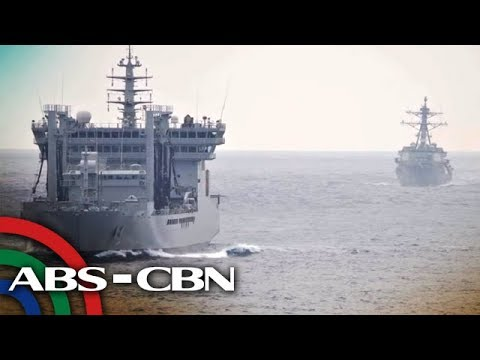 PH, US, Japan, India navies sail together in disputed South China Sea | ANC
