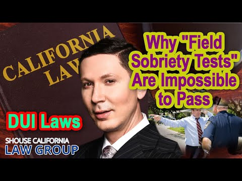 """Former DUI Prosecutor: Why """"field sobriety tests"""" are impossible to pass"""