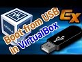 Boot VirtualBox from USB