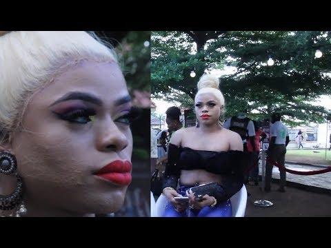 Bobrisky shows off killer Make Up & Outfit Got Acapella Senator Nedu Laughing