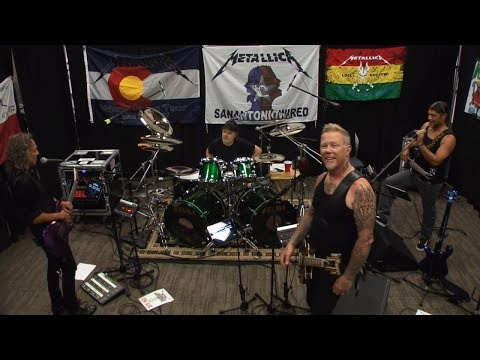 Metallica Fight Fire with Fire Tuning Room ORLANDO JUL 05 2017