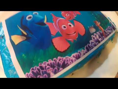Finding Nemo Birthday Cake Finding Dori With Seasparkle