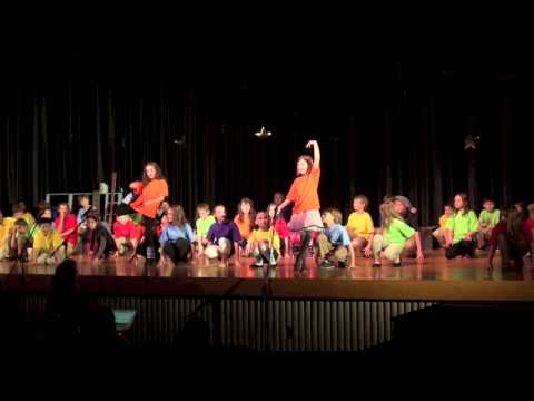 4th Grade Maple School (Easthampton) Best Little Theater in Town - opening song