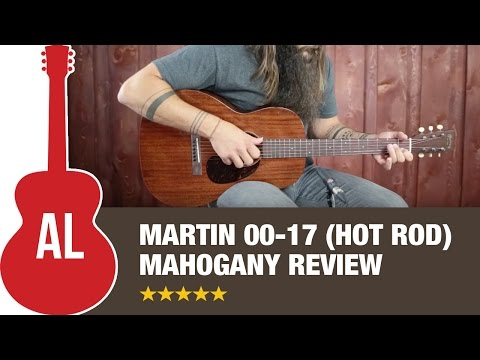 Martin 00-17 Mahogany MV (Hot Rod) Custom