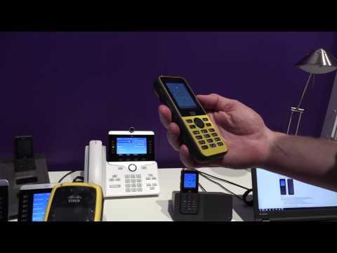 Cisco 8821 WiFi Phone at Cisco Live 2016 Las Vegas - YouTube