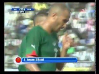 هدف العربي لاعب الهلال على منتخب السينغال