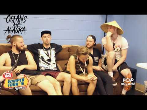 Oceans Ate Alaska Interview #2 at Vans Warped Tour 2016