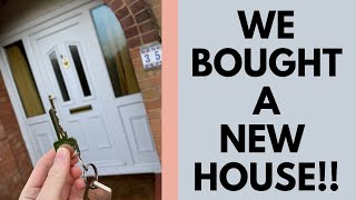 WE BOUGHT A NEW HOUSE! EMPTY HOUSE TOUR