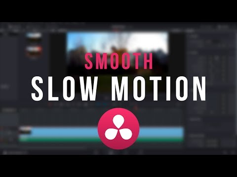 SMOOTH Slow Motion Tutorial - DaVinci Resolve 12.5/14
