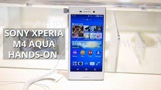 Sony Xperia M4 Aqua hands-on