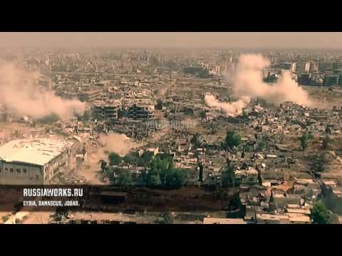 Syrian War in 4K Drone Footage Syria Iraq