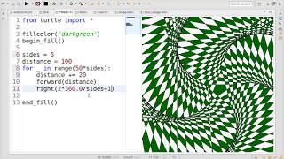 Image from Live Coding in Python v2.16