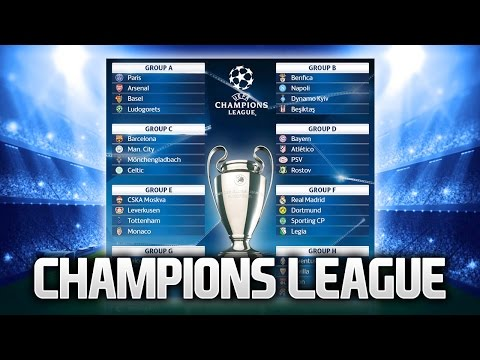 2016-17 CHAMPIONS LEAGUE GROUPS - MY THOUGHTS!