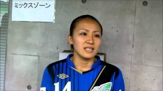 2012年9月22日、大阪・長居スタジアムで行われたプレナスなでしこリーグ...
