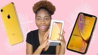 UNBOXING IPHONE XR