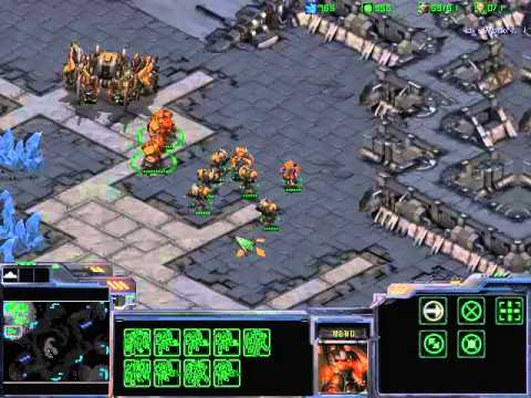 Starcraft Burning Ground Gameplay Best Starcraft 2 Mod