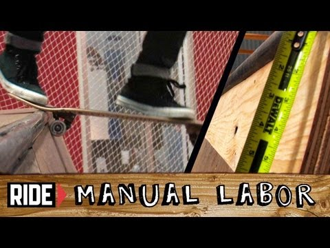 How-To Build a Skatepark - Quarter Pipe Part 7: Metal & Skatelite - Manual Labor