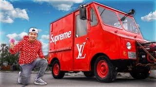 Making A Supreme Ice Cream Truck