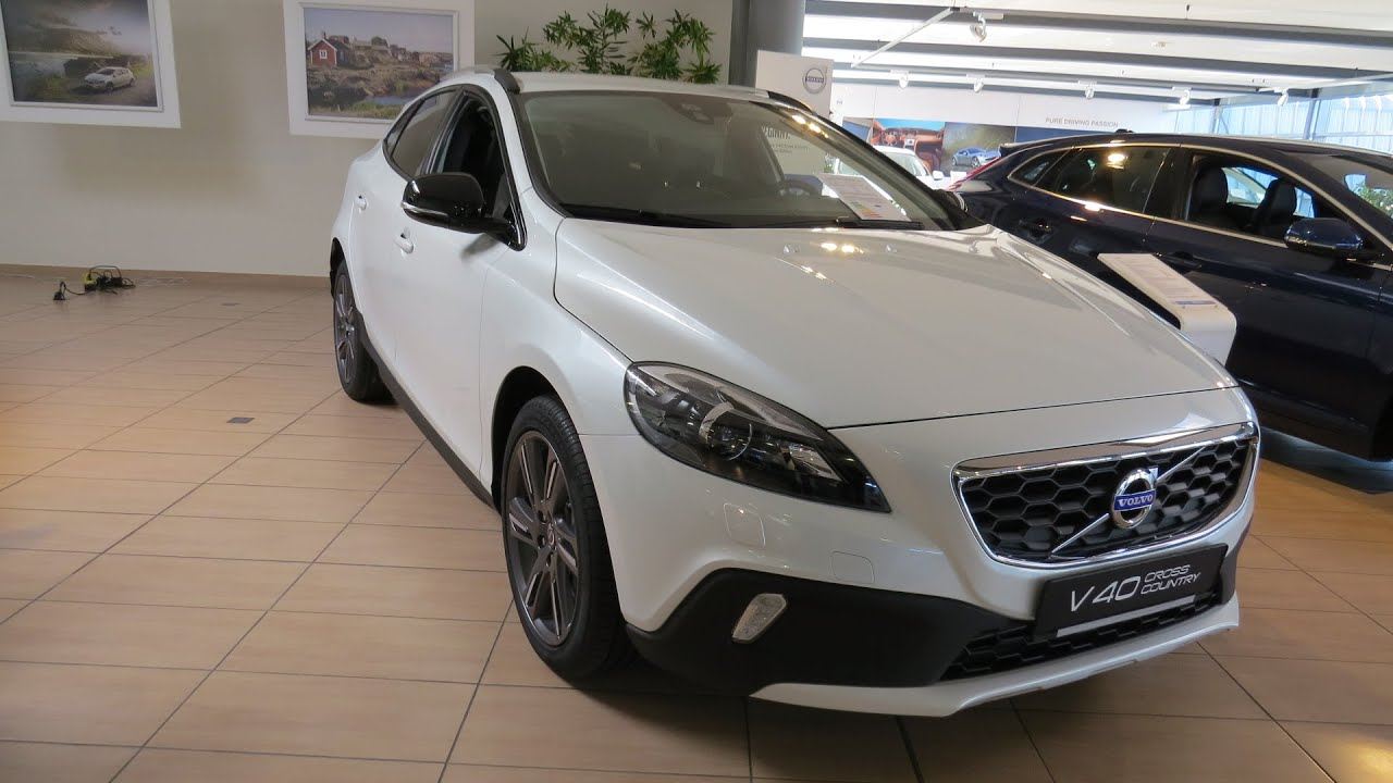 2015 volvo v40 d3 cross country youtube. Black Bedroom Furniture Sets. Home Design Ideas