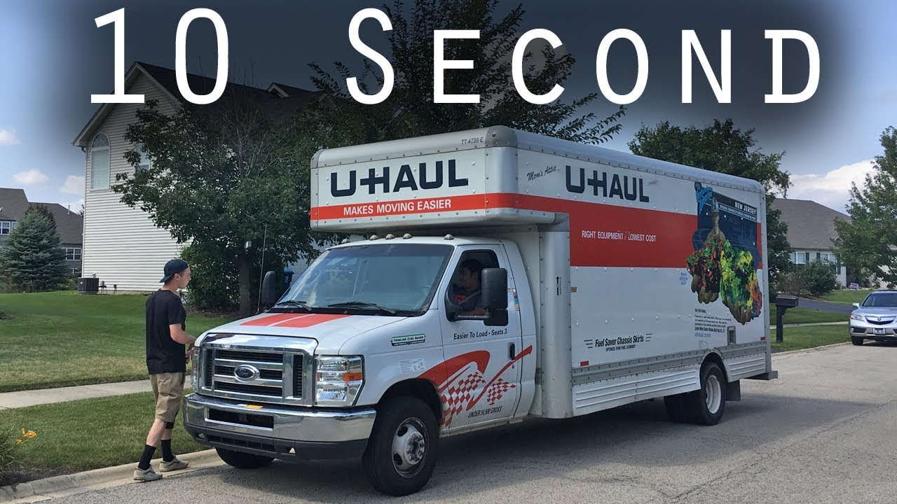 20 Foot U Haul Truck 10 Second Review Youtube