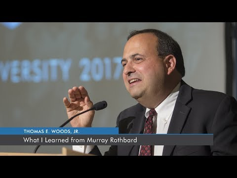 What I Learned from Murray Rothbard | Thomas E. Woods, Jr.