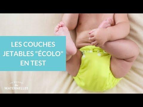 """Les couches jetables """"écolos"""" en test - La Maison des Maternelles #LMDM"""