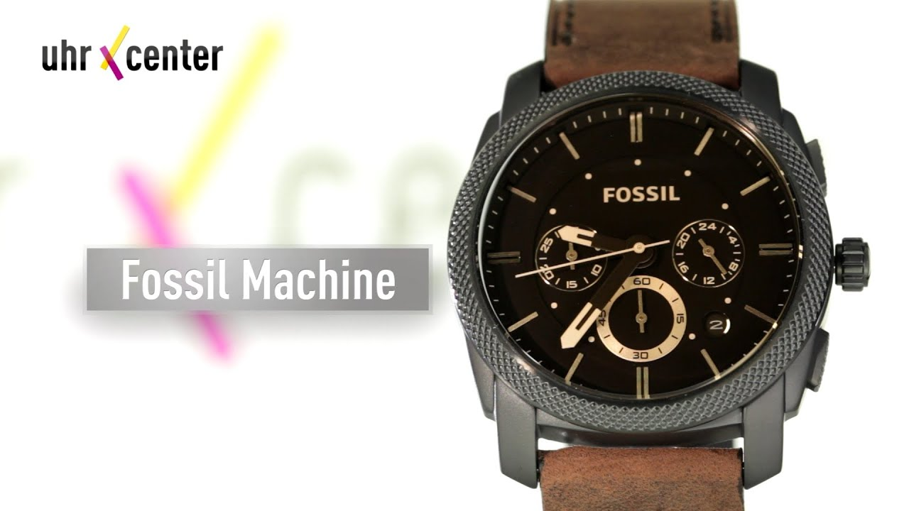 fossil fs4656 herren chronograph youtube. Black Bedroom Furniture Sets. Home Design Ideas