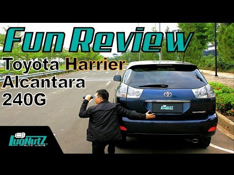 SUV Favorit Konglomerat Udah MURAH! - Toyota Harrier FUN REVIEW | LUGNUTZ Indonesia