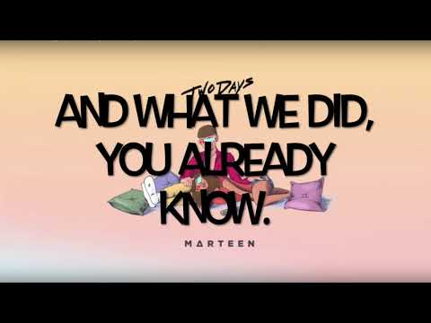 2 Days - Marteen Estevez (Lyrics)