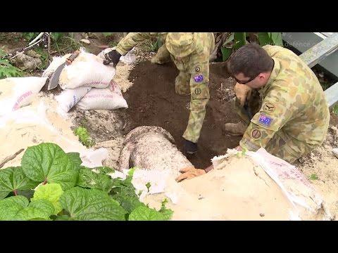 ADF renders safe explosives in Vanuatu