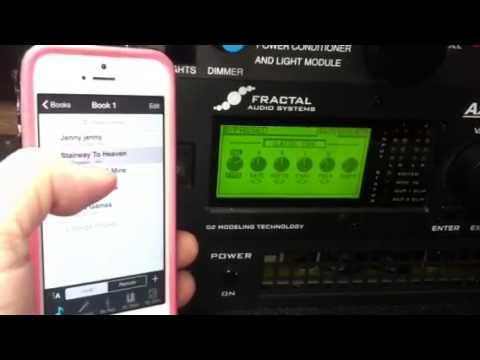 Axe-Fx II Wireless Control Test