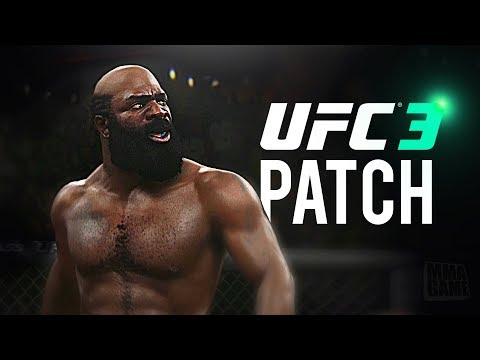 UFC 3 - NEW Content / Patch Update Details PLUS 5 NEW Fighters!