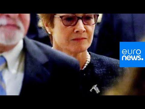 Destitution : l'ex-ambassadrice Marie Yovanovitch américaine en Ukraine témoigne