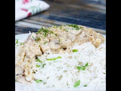 Creamy Mushroom Chicken | Creamy Mushroom Chicken recipe | Creamy Chicken Recipe