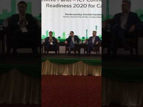 Executive Panel – ICT Connectedness and Readiness 2020 for Cambodia  (Moderated by Amrish Kacker)