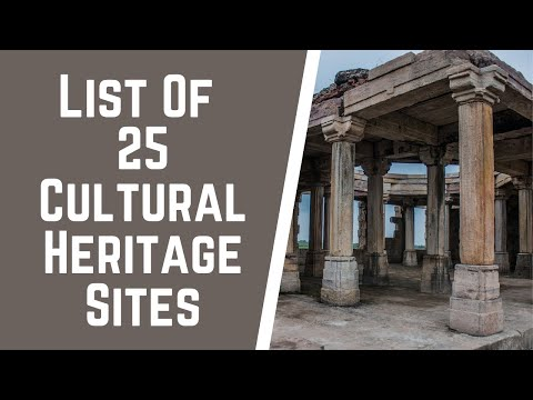 List Of 25 Cultural Heritage Sites  BY  LEARNING  A TO Z