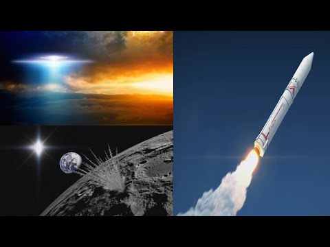 SOMETHING Caught Monitoring Japan Rocket Launch ( UFO ?) & L