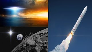 SOMETHING Caught Monitoring Japan Rocket Launch ( UFO ?) & Lights Spotted On The Moon 2/1/2018