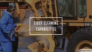 Sioux Cleaning Capabilities
