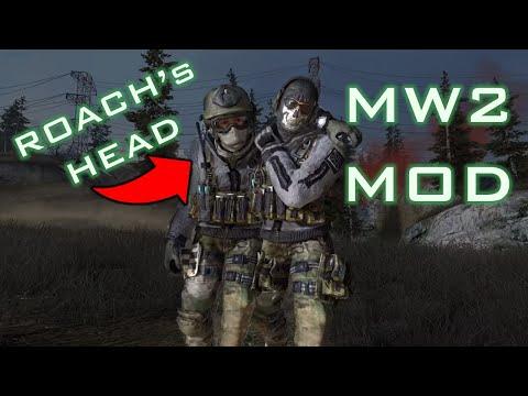 "MW2 Mod ""Loose Ends"" Roach's Head!"