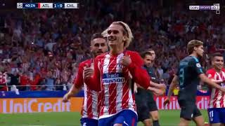 Atletico Madrid vs Chelsea 2-1 All Goals 27/9/17