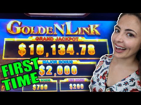 NEW SLOT MACHINE Alert! Golden Link Slot At Wynn Las Vegas!