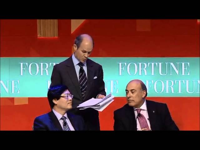 GEOFF COLVIN:  Moderating CEO Panel at Fortune Global Forum in China