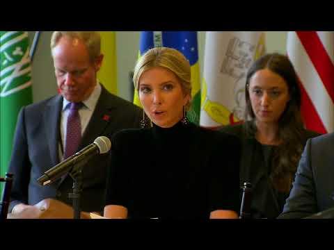 Ivanka Trump on modern slavery