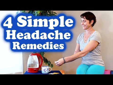 4 Quick Remedies for Headaches, Sinus Pressure, Natural Home Remedies with Jade Nelson